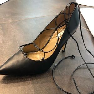 Bcbg brand new lace up pump